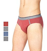 4 Pack Cool & Fresh™ Stretch Cotton Assorted Slips with StayNEW™