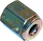 Clarik 10Mm X 1Mm Female Brake Pipe Nuts For 3/16 Pipe X 5