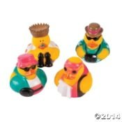 Tacky Tourist Traveling Rubber Ducks - 12 pcs - 1