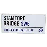 Chelsea Street Sign - (40cm x 18cm) - One Size
