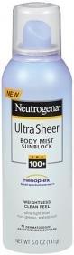 Neutrogena Ultra Sheer Sunblock, Body Mist, SPF 100+, 147 ml (Sonnenschutz)