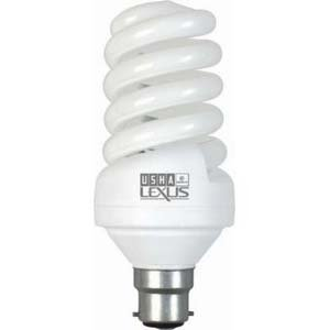 Usha Usha Lexus Eurolex Spiral 27-Watt CFL Bulb (Cool White And Set Of 2)