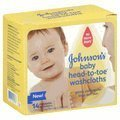 Johnson & Johnson Baby Head-to-toe Washcloths 14 Count Pack of 2