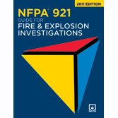 Nfpa 921: Guide for Fire and Explosion Investigations 2011
