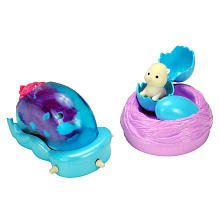 Zhu Zhu Babies Playset PeekABoo Nest Power Pod Hamster Babies Not Included!
