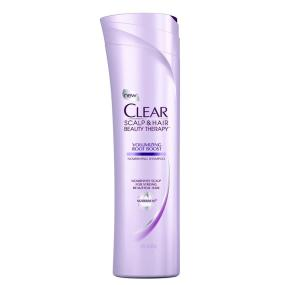 Clear Scalp & Hair Beauty Therapy Volumizing Root Boost Nourishing Shampoo, 12.9 Fluid Ounces
