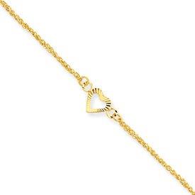 Genuine IceCarats Designer Jewelry Gift 14K Diamond-Cut