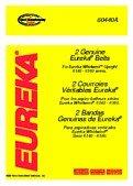 Eureka Whirlwind Vacuum Belt (Aftermarket) front-615147