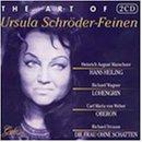 echange, troc Schroder-Feinen, Marschner, Wagner, Weber - Art of Ursula Schroder-Feinen