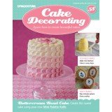 DeAgostini Cake Decorating Magazine + Free Gift issue 58