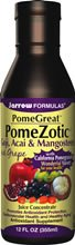 Jarrow POMEZOTIC, w/ Grape, Goji, Acai, and Mangosteen, 12 oz ( Multi-Pack)