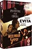 The Phantom Of The Opera/Evita/Gypsy [DVD]
