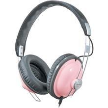 Panasonic Old School Style Monitor Headphones Rp-Htx7E-P-Pink