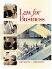 Law for Business, Ashcroft,John/Ashcroft,Janetnet E.