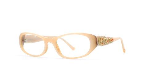 judith-leiber-monture-de-lunettes-femme-marron-marron