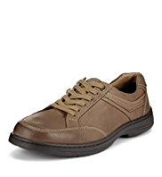 Airflex™ Comfort Leather Wide Fit Side Stripe Shoes