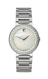 Movado Concerto White Mother-of-Pearl Dial Women's Watch #0606421