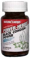 Natures Herbs Black Cohosh Power 60 Capsules