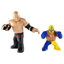WWE Rumblers Kane And Rey Mysterio Figure 2-Packs - 1