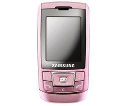 Samsung - D900i - pink