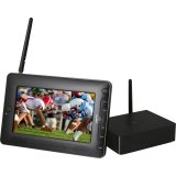 Azend Group HR702 Portable Tv Set Top Box Perp Extender 7in HD Display