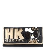 Hello Kitty Leopard Print with Glasses Wallet