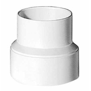Lambro Industries 235 Vent Adapter, Plastic, 4 X 3 Or 3 X 4-In. - Quantity 12 Dryer Vent Accessories front-398806