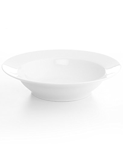 The Cellar 13 Inch Large Rimmed Pasta Serving Bowl (Large White Pasta Serving Bowl compare prices)