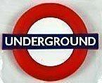 (London) Underground roundel rubber fridge magnet
