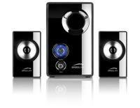 Speedlink VIVO 2.1 Subwoofer Speaker System - Black