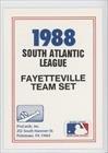 checklist-baseball-card-1988-procards-minor-league-fage