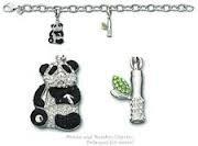 Swarovski Panda Charm Breacelet
