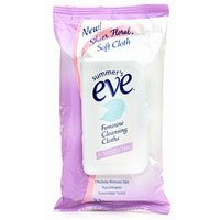 Summers Eve Cleansing Cloths for Sensitive Skin, Floral - 32 ct