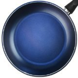TeChef - Color Pan 12'' Frying Pan, Coated with DuPont Teflon Select - Colour Collection / Non-Stick Coating (PFOA Free) / (Lavender Blue)