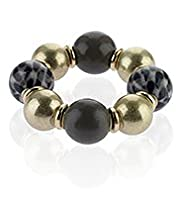 Per Una Safari Assorted Bead Stack Stretch Bracelet