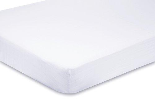 aden + anais Organic Muslin Crib Sheet, Pure