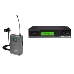 """Sennheiser Xsw 12-A Xs Wireless Lavalier System - Sk 20, Me2 And Em 10 Receiver - """"A"""" 548-572 Mhz"""