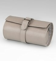M&S Collection Leather Mock Crocodile Skin Jewel Roll