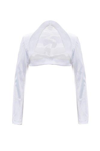Giovani & Ricchi -  Coprispalle  - Maniche lunghe  - Donna bianco M