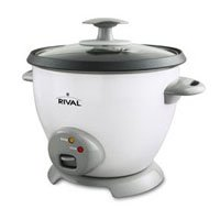 Rival CKRVRCM063 6-Cup Rice Cooker, White by Rival