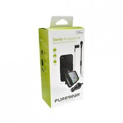 Puregear Starter Accessory Kit for iPhone 4, and 4s with In-ear Headset