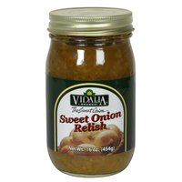 Vidalia Brands Sweet Onion Relish 16 oz Jar Food, Beverages Tobacco ...