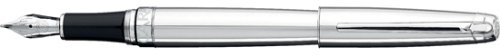 Caran D'ache Leman Mirror Rhodium Coated Broad Point Fountain Pen - CA-4799224 - Buy Caran D'ache Leman Mirror Rhodium Coated Broad Point Fountain Pen - CA-4799224 - Purchase Caran D'ache Leman Mirror Rhodium Coated Broad Point Fountain Pen - CA-4799224 (Caran d' Ache, Office Products, Categories, Office & School Supplies, Education & Crafts)