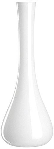 Leonardo Glas Vase Sacchetta, 40 cm, weiß