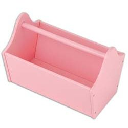 Kidkraft 15904 Toy Caddy, Pink front-1026508