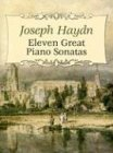 Eleven Great Piano Sonatas (Dover Music for Piano) (0486438244) by Haydn, Joseph