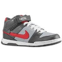 Nike Mogan Mid 2 Jr 407716-060 Darkgrey/red/grey (1Y, DARK GREY/RED/GREY)