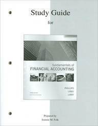 Study Guide to accompany Fundamentals of Financial Accounting [Paperback]