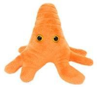 Giant Microbes Amoeba Orange Plush