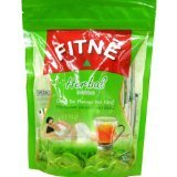 2 Packs New Fitne New Herbal Infusion Green Tea Flavored Slimming Weight Loss Control 80g. 30 Sachets Low Price